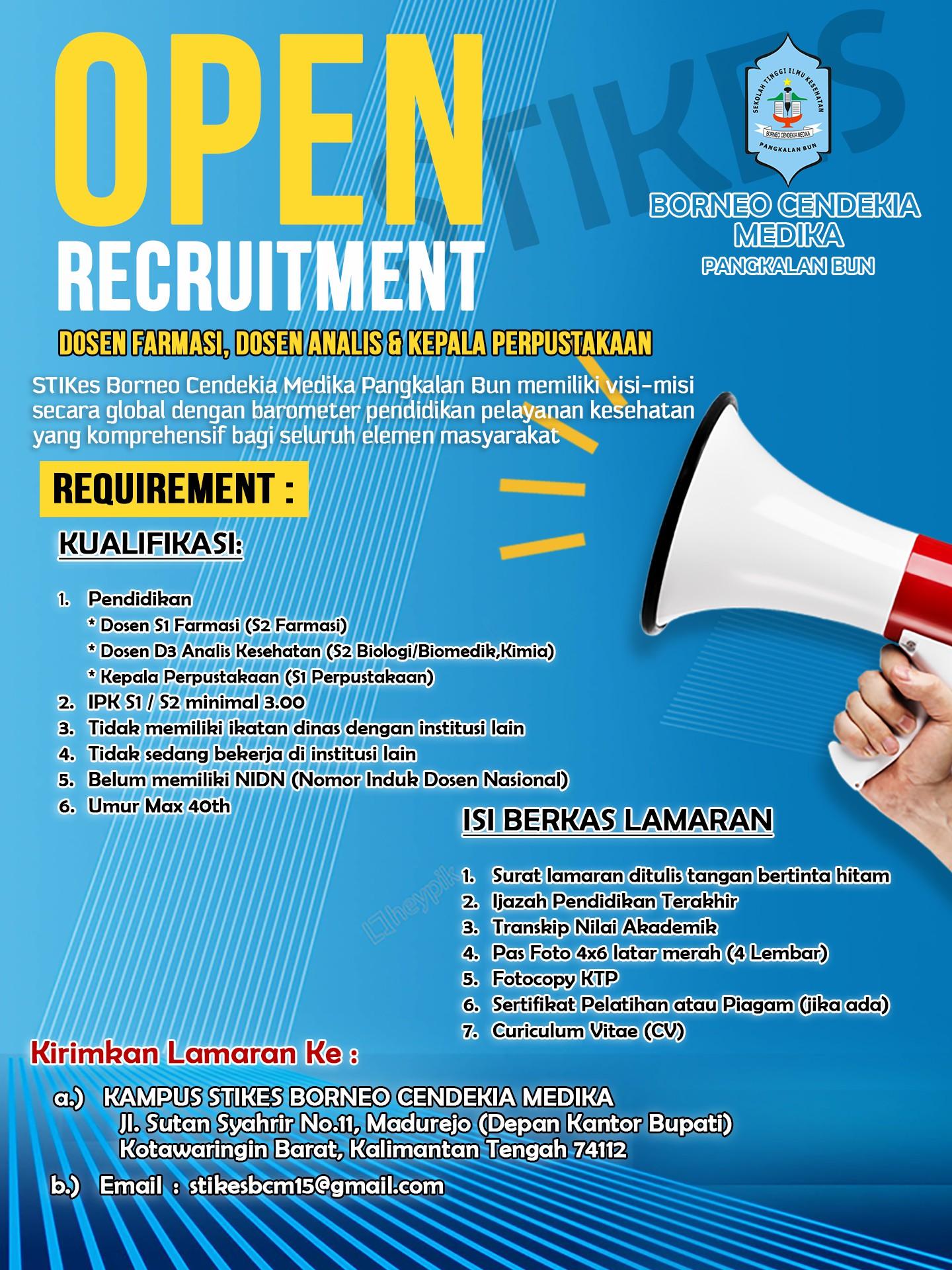 Open Recruitment 1